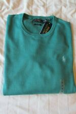 RALPH LAUREN POLO JUMPER PIMA COTTON GREEN SIZE XL NEW WITH TAGS RRP £115