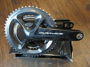 SHIMANO Dura-Ace FC-R9100-P Dual Power Meter Crankset 175mm 52/36 11-Speed R9100