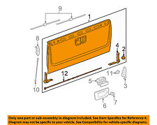 GM OEM-Tail Gate Tailgate 20885080
