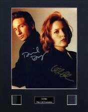 X-Files Ver2 Signed Photo Film Cell Presentation