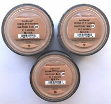 Bare Escentuals BareMinerals Foundation Medium Tan C30 8g XL SPF15 <PACK OF 3