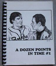 """Quantum Leap Fanzine """"A Dozen Points in Time #1"""" GEN"""
