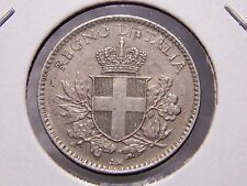 Unc Italy 1918 20 Centesimi Overstruck on Km# 28.1 1894 Berlin Mint Nice Coin!