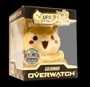 2018 BlizzCon Exclusive Cute But Deadly Blizzard Overwatch: Goldimari Mini Plush