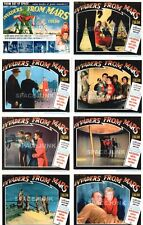 INVADERS FROM MARS (1953) U.S. Lobby Cards Complete Set of 8