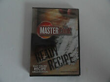 Master Cook Ready Recipe Easy Online Recipe Organization WINDOW 7 8 VISTA XP NEW