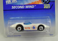 Hot Wheels White Second Wind Race Car 16810 527 BW New
