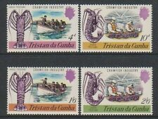 Fish Single Tristanian Stamps