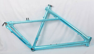 "Vintage 1993 GT Zaskar Mountain Bike Frame All Terra 21.5"" Large Blue Ano"