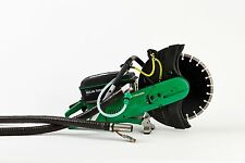 """16"""" Cement Concrete Quick Cutoff Hand Held Saw: Exhaust Free No Emmissions"""