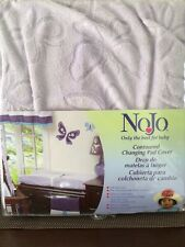 NoJo Beautiful Butterfly Contoured Changing Pad Cover