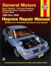 GENERAL MOTORS  - A CARS - Automotive Repair Manual - 1982 THRU 1996 - PAPERBACK