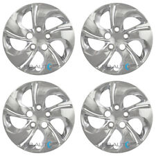 "SET of 4 NEW 15"" CHROME Bolt On Hubcaps Wheel Covers for 2006-2015 HONDA CIVIC"