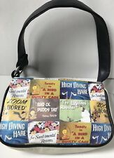 Rare Looney Tunes Zip Purse Bag Fashion Women Designer Warner Bros Tweety USA