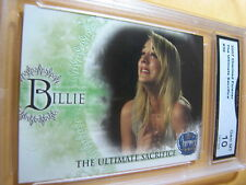 PENNY BILLIE KALEY CUOCO 2007 CHARMED FOREVER THE ULTIMATE SACRIFICE GRADED 10