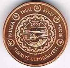 Turkye 2003 (Gr) probe-pattern-essai - 5 eurocent - Landschap