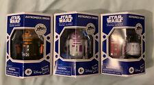 (3) Star Wars Galaxy's Edge AstroMech Droids