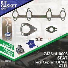 Gasket Joint Turbo SEAT Ibiza Cupra TDI 160 742614-3 742614-5003S BPX BUK 8v-020