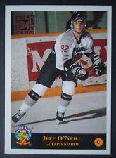 NHL 205 jeff o 'Neill Guelph Storm Prospects 1993/94