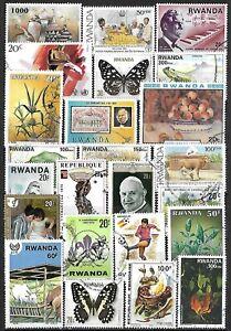 Rwanda Used Selection $161.80 SCV