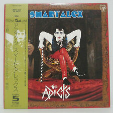 THE ADICTS - Smart Alex LP 1986 JAPAN PRESS TOY DOLLS MISFITS SEX PISTOLS w/ obi
