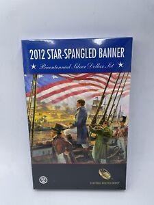 2012 Star-Spangled Banner Bicentennial Silver Dollar Set SEALED US MINT