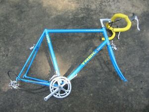 TREK 1200 60cm Road Bike Frameset w/ Headset BB Crankset Gears Brakes