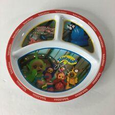 "Teletubbies Plate 1998 Zak Plastic Kids Child Dish 8.75"""