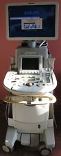 Philips IU22 D Cart Ultrasound System with 5 Transducers & Options back up Disk