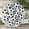 """12 Soccer Pins 1 1/4"""" PINBACK Buttons Badge Team Party Favor Decowords USA NEW"""