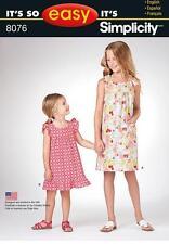 Butterick Child Dress Sewing Patterns