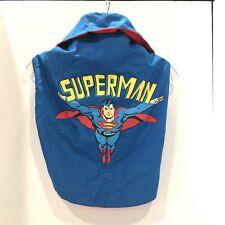 DC Comics Originals Superman Dog Pet Collared Coat Costume Size XL NEW