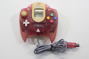 SEGA Dreamcast Controller Tropical Clear Red Millennium 2000 HKT-7700 DCC013