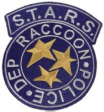 Resident Evil S.T.A.R.S. Raccoon Police Blue Logo Iron On Patch