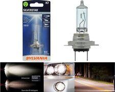 Sylvania Silverstar H7 55W One Bulb Head Light High Beam Replace Upgrade Lamp