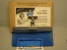 NOS anti glare shield American glare shield company safety glare shield polaroid