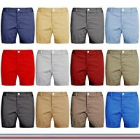 Mens Chino Shorts Summer Cargo Combat Stallion Cotton Half Pant Casual New
