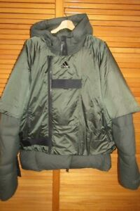 Adidas Prime COLD.RDY Mens Down Fill Puffer Parka Jacket Coat Size M