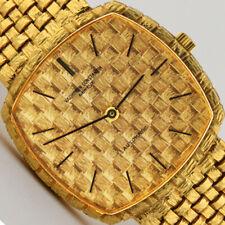 Vacheron Constantin Historiques 18K Gold Woven Bracelet Auto Watch 43005/206 B/P