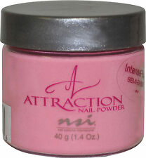 NSI Attract Nail Powder Intense Pink - 40 g (1.42 Oz.) - N7497