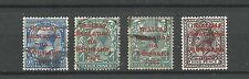 Ireland 1922 Dollard overprints Sc 9-11 Red 10a Carmine Used