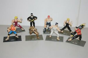 Virtua Fighter Figure lot of 8 sega 1993 / 1994 Akira / Jacky / Dural an more