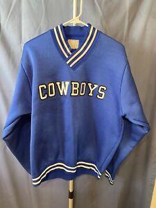 Vintage Champion Dallas Cowboys Pullover Fleece Sweatshirt Size XL Ultra Rare