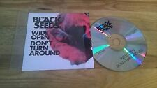 CD pop the black seeds-wide open (2 chanson) promo proville rec