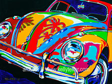 Beach Bug VW, 16 x 20 Limited Edition of 230 Giclee signed by artist, Telfer