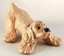 Modglin California Spaniel Dog Mid-Century, Handpainted Decoration