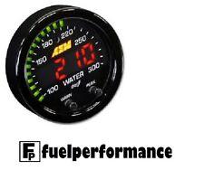 AEM 30-0302 X-Series 100-300F / 40-150C BLACK BEZEL Temperature Gauge