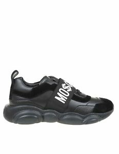 MOSCHINO Men's Shoes Sneakers Fantasy NIB Authentic 40 41 42 43 44