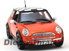 2011 MINI COOPER BRONZE ORANGE METALLIC 1:18 DIECAST MODEL CAR 18-12034BRZ
