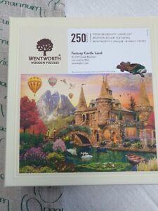 """Wentworth Puzzle mit 250 Teilen  - komplett   """"Fantasy Castle Land"""" neuwertig"""